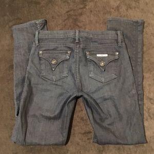 Girls Hudson dark denim jeans. size 10